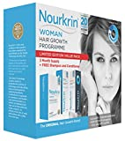 Nourkrin Woman 180 tablets includes Nourkrin Shampoo and Conditioner