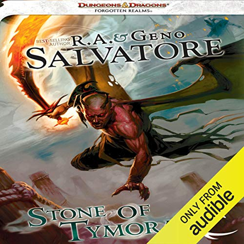 Stone of Tymora Audiobook By R. A. Salvatore,                                                                                        Geno Salvatore cover art