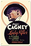 Hunnry Lady Killer James Cagney Poster Metall Blechschilder