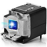 AuKing Lámpara de Proyector VLT-XD600LP VLT-XD700LP para Mitsubishi XD600U XD600U-G FD630U FD630U-G WD620U WD620U-G XD600 XD600LP XD700U FD730U FD730U-G WD720U WD720U-G UD740U XD700LP Proyectores