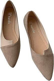 Gyoume Women Shoes Bow Pointed Toe Women Flats Woman Flat Shoes Ballet Flats Ladies