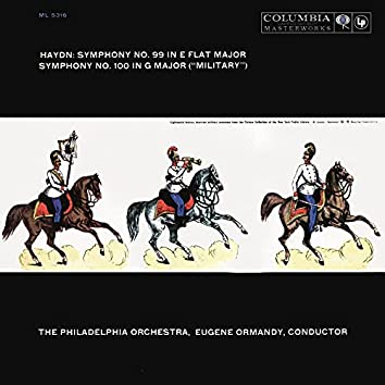 """Haydn: Symphonies Nos. 99 & 100 """"Military"""" (Remastered)"""