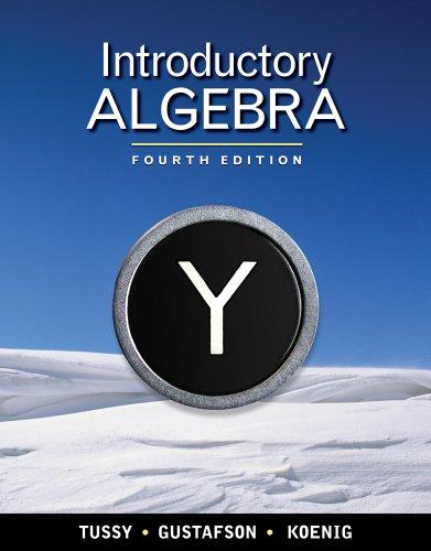 Bundle: Introductory Algebra, 4th + WebAssign Printed Access