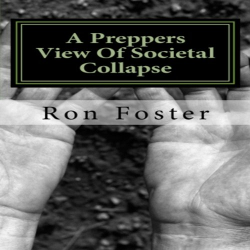 A Preppers View Of Societal Collapse audiobook cover art