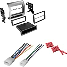 CACHÉ KIT15 Bundle with Car Stereo Installation Kit for 2005 – 2011 Toyota Tacoma – in Dash Mounting Kit and Harness for Double Din or Single Din Radio (3 Item)
