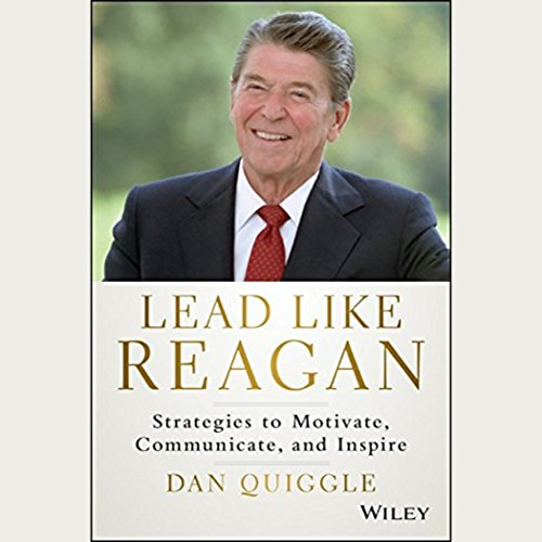 Lead like Reagan audiobook cover art