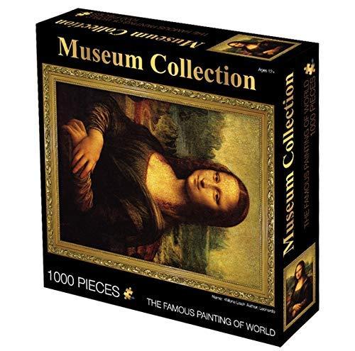HOOBBI Rompecabezas 1000 Piezas pcs Puzzle Rompecabezas Mona Lisa educativos para niños Regalo interesantes Amigo