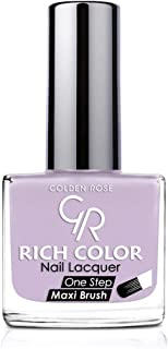 Golden Rose Rich Color Nail Lacquer, Color Purple No103