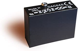 Opto 22 OAC5A5 AC Output with Normally Closed, 24-280 VAC, 5 VDC Logic, 4000 Vrms I/O Isolation, 20 milliamps Minimum Load Current