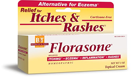 Boericke amp Tafel Florasone Itch amp Rash Relief Cream 1 Ounce