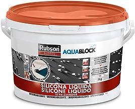 RUBSON SL3000 AQUABLOCK Henkel vloeibare siliconen (5 kg, terracotta)