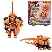 [Bugs Bot]バックスボット イグニッション 2段変身ロボット(ヘラクレス)/カブトムシとロボットに変身可能/攻撃力と防御力を高め、アップグレードロボット/ Transformation Bugs Robot HECULES[並行輸入品]