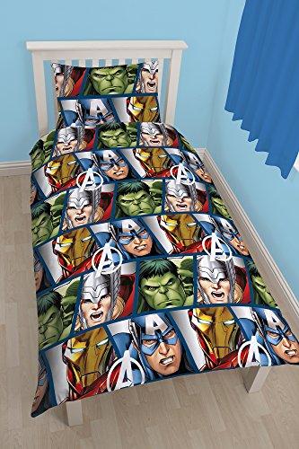 Offizier Avengers Iron Man, Hulk, Thor, Capi...