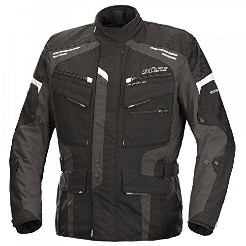 Büse Torino Evo Herren Jacke schwarz anthrazit, Größen:XXXXXXXXXXL