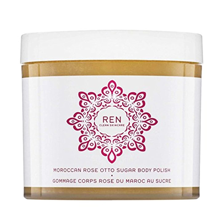 熱意リードブルーベルREN Moroccan Rose Otto Sugar Body Polish 330ml (Pack of 6) - モロッコは、糖体ポリッシュ330ミリリットルをオットーローズ x6 [並行輸入品]