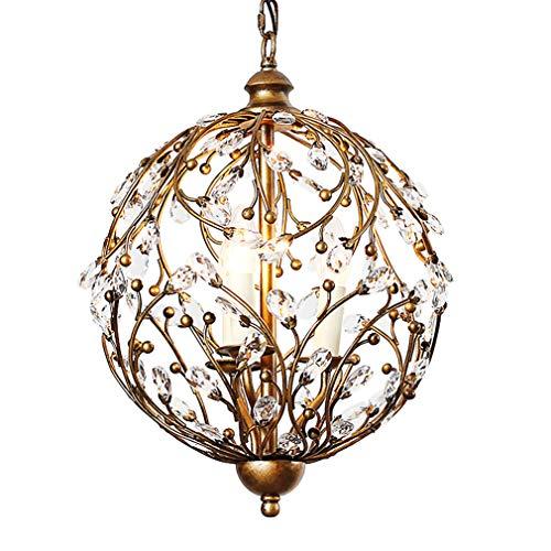 Kerzen Kronleuchter Sphärisches Design Pendelleuchte Vintage Deckenleuchte Raumbeleuchtung...