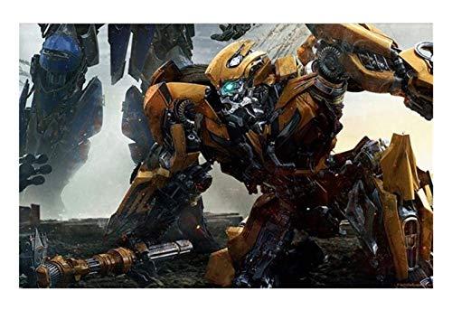 ZGPTOP Jigsaw Puzzle Transformers Bumblebee Optimus Prime Juegos De Rompecabezas Grandes, Regalo para Niños Y Adolescentes 300/500/1000/1500 Piezas, 2 Estilos (Color : B, Size : 1000P)