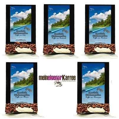 Kaffeepads Pobierpaket Länder Kaffee Mittelamerika 5 x 3 Pads