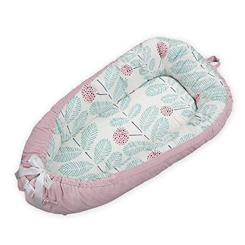 GUOGUODA Hamkaw - Cama extraíble para Nido de bebé,Protector Reductor de Nido de bebé portátil,Cuna de Viaje para Dormir y Descansar