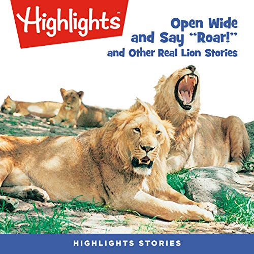 Open Wide and Roar and Other Stories copertina