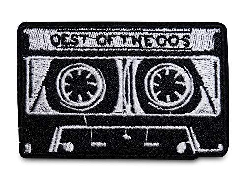 Finally Home Schwarz weiße Kassette Bügelbild Patch zum Aufbügeln | Musik Patches, Aufbügelmotive