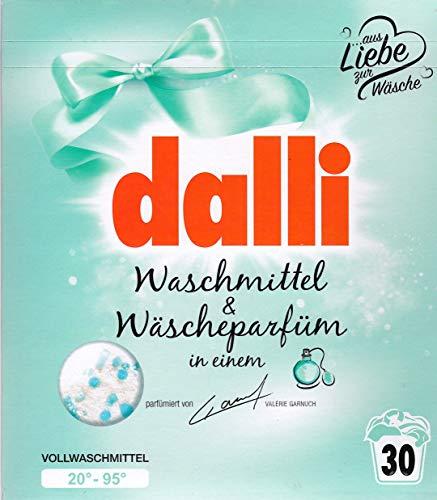 Dalli Waschmittel & Wäscheparfüm by Valérie Garnuch 20° - 95 ° Vollwaschmittel 1,95 KG