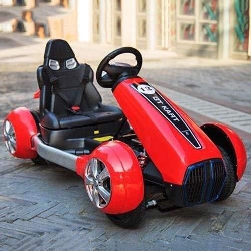 SSBH Fernbedienung Elektro Ride on Quad Fahrrad Fernbedienung LED Lichter und Musik Mini Kinder Elektro RC Auto GLE63S AMG 4x4 Kinder Elektro Ride x4 Kids On Vehicle (Color : Rot)