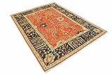 Nain Trading Arijana Klassik 233x173 Orientteppich Teppich Dunkelgrau/Braun Handgeknüpft Pakistan - 5