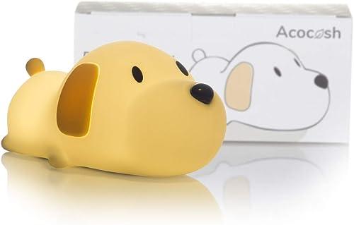 Acocosh LED Baby Night Light for Kids, Cute Puppy Night Touch Lamp, Nursery Soft Silicone Breastfeeding Nightlight, U...