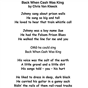 Back When Cash Was King