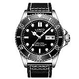 SHOUTAOB Relojes mecánicos para hombre S Classic Buceo Series 200 m de acero inoxidable resistente al agua marca de lujo reloj hombres Relogio Masculino RZTZDM (color: color 3)