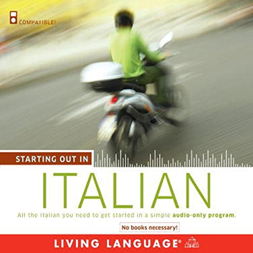 Starting Out in Italian audiobook cover art
