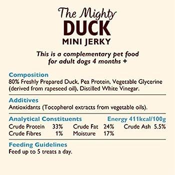 Lily's Kitchen Friandises Jerky de Canard The Mighty Duck pour Chien 8 Unités 70 g