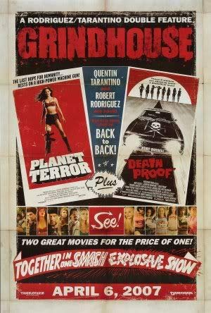GRINDHOU.SE - Planet Terror Death Proof – Movie Wall Art Poster Print – 43cm x 61cm / 17 Inches x 24 Inches A2