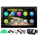 EINCAR 7 Inch Android 10.0 Car Stereo with GPS Navigation Double Din Car