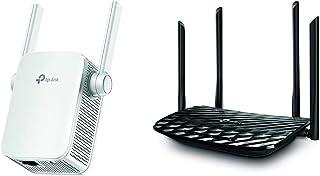 【セット買い】TP-Link WiFi中継器 AC1200 中継器 無線LAN 中継機 867 + 300Mbps ハイパワー ブリッジ デュアルバンド APモード搭載 中継器RE305V3.0 3年保証 & TP-Link WiFi 無線LA...
