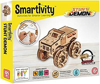 Smartivity Stunt Demon STEM 3D Wooden Model Truck