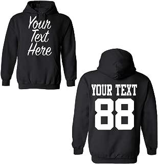 Custom 2 Sided Hoodies, Create Your own Hoodie, Personalized Sweatshirt