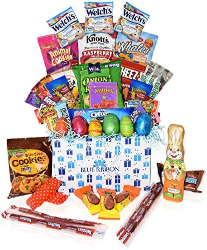 Easter Care Package Filled with Candy Egg Chocolates Cookies and More Perfect for Kids Girls product image