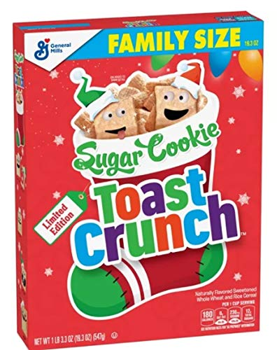 Sugar Cookie Toast Crunch, Limited Edition, 547g Family Size