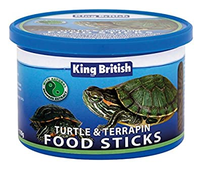 King British Turtle & Terrapin Food Sticks 110g - Valentina Valentti UK by King British