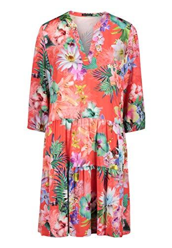 Betty Barclay Collection Damen 1061/1429_4885 Kleid, Pink/Dark Blue, 46