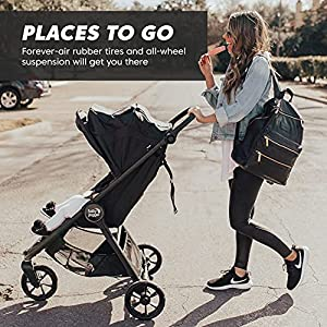 Baby Jogger City Mini GT2 All-Terrain Stroller, Jet