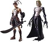 Square Enix Vagrant Story: Ashley Riot & Sydney Losstarot Bring Arts Action Figure, Multicolor