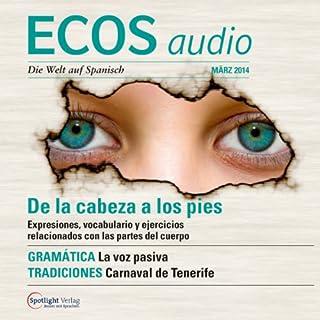 Couverture de ECOS audio - De la cabeza a los pies. 3/2014