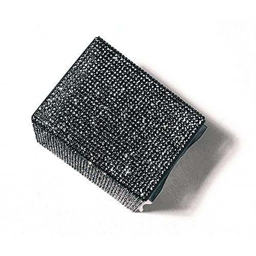 Porta Brochas De Maquillaje Portillador de Maquillaje Cristal Rhinestone Maquillaje Pincel Conjunto Maquillaje Pinceles Organizador Contenedor Copa Cosmética Soporte Brochas (Handle Color : 2)