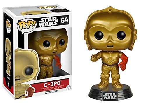 Figura Pop Vinyl Bobble Head C-3PO Star Wars Episodio VII