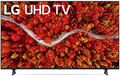 """LG UHD TV 65"""" Real 4K LED Display, ThinQ AI with Magic Remote, Native 60 Hz Refresh Rate, Alexa Built-in, Bluetooth, Wi-Fi, USB, Ethernet, HDMI - 2021"""