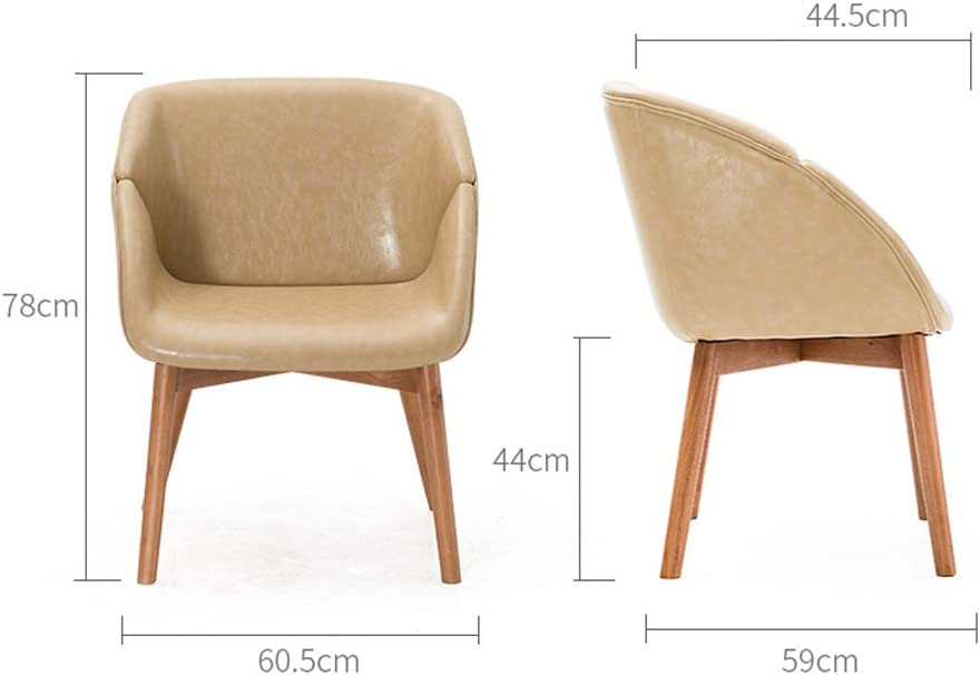SLL- Chaise Longue en Bois Massif Moderne (Color : E) E
