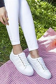 TARÇIN Hakiki Deri Günlük Kadın Spor Ayakkabı TRC50-0685